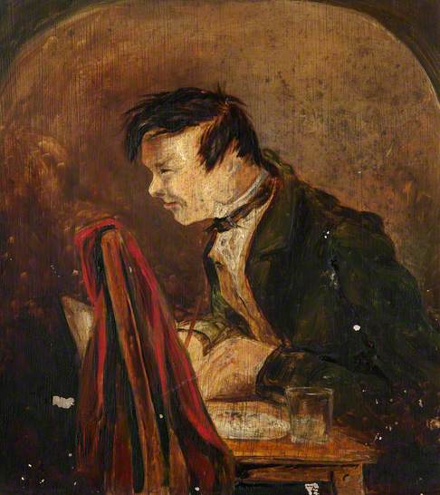 Portrait of a Man Writing at a Table