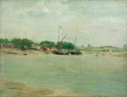 Seascape with Two Sailing Boats