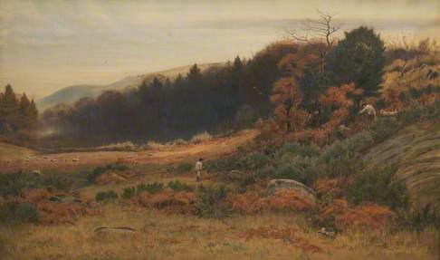 Autumn at Caerham Conway Valley