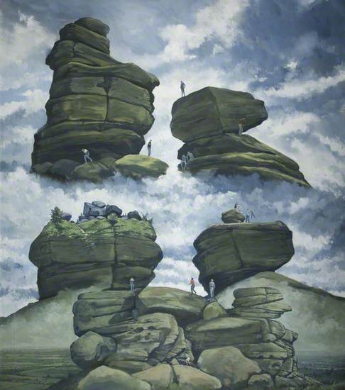 Rocks with Figures