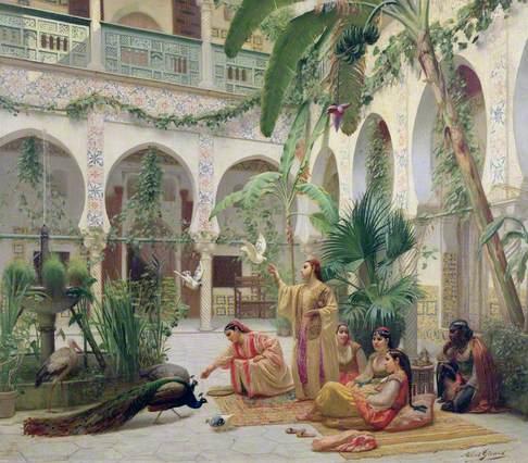 Moorish Courtyard
