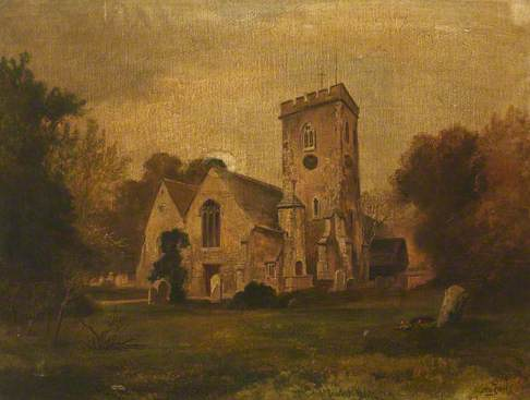 Painting of a Church