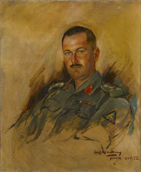 Brigadier John Mellsop, 1946