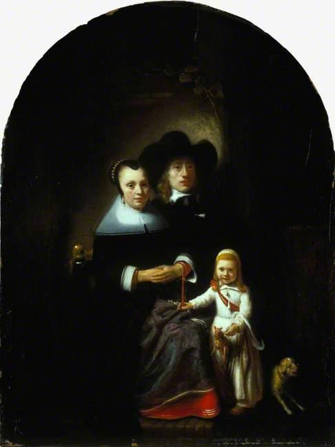 A Dutch Family Group