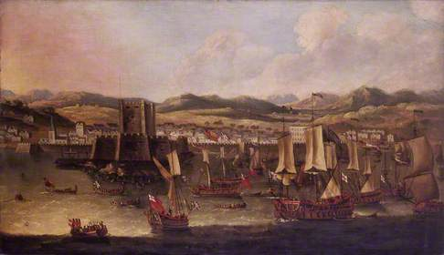 Landing of William III at Carrickfergus, 14 June 1690