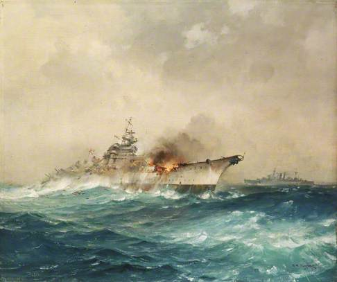 The Sinking of the 'Bismarck', 27 May 1941