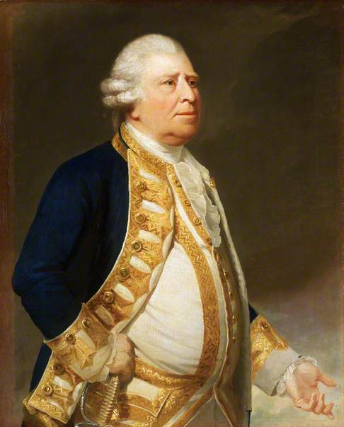 Portrait of a Flag Officer, c.1767