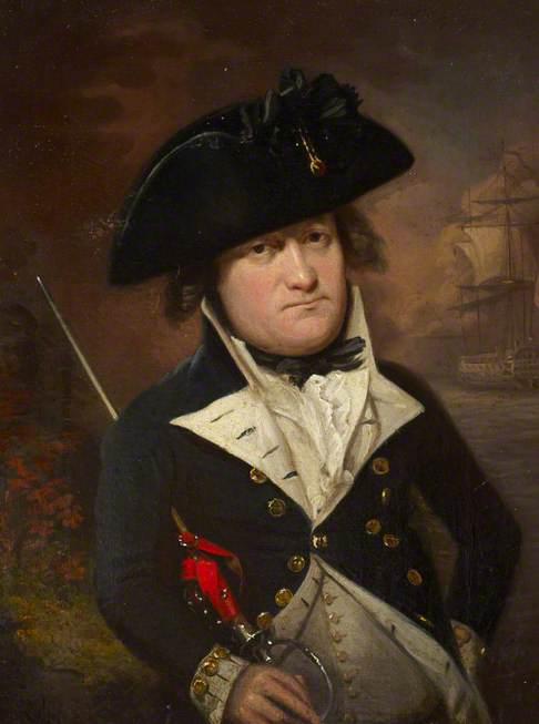 Portrait of a Naval Lieutenant, c.1795