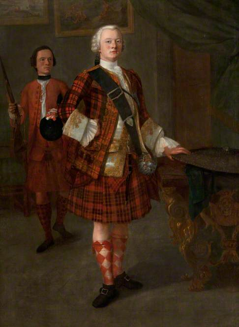 Alasdair Ruadh MacDonnell, 13th Chief of Glengarry