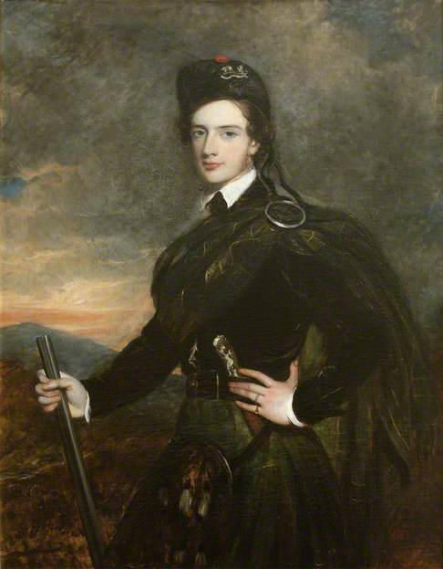 Francis Garden (1721–1793), Lord Gardenstone, 5th of Troup, in his Kilt and Plaid