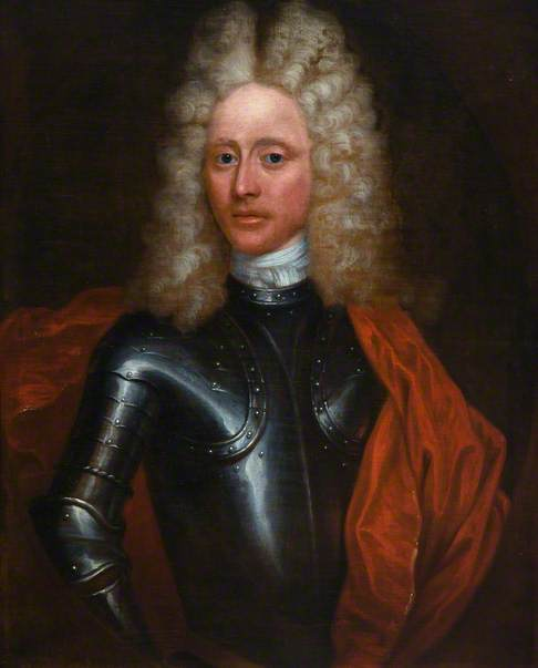 Captain James Erskine, Brother of Lord Dun, 1690