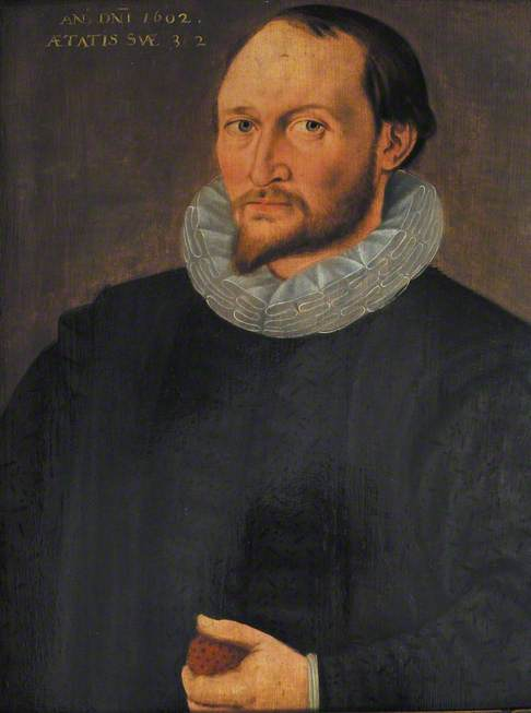 Unknown Man, Aged 32 (allegedly but not Thomas Harriot, geographer)