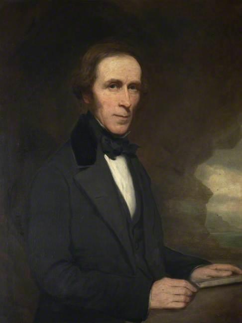 Portrait of Victorian Gentleman
