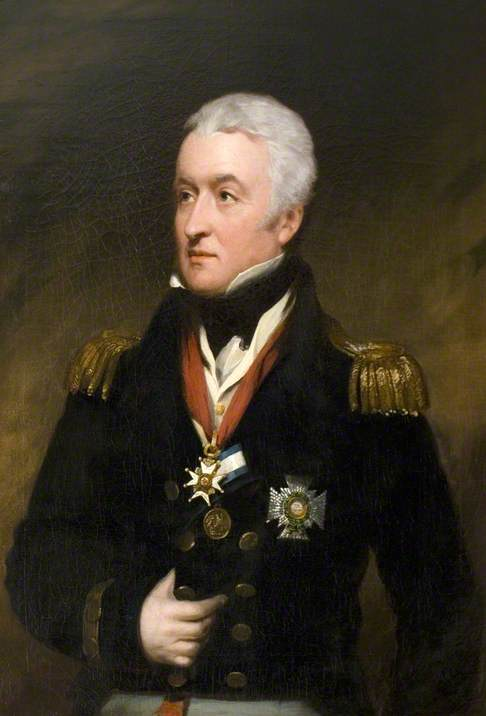 Admiral Sir Poultenay Malcolm (1768–1838)