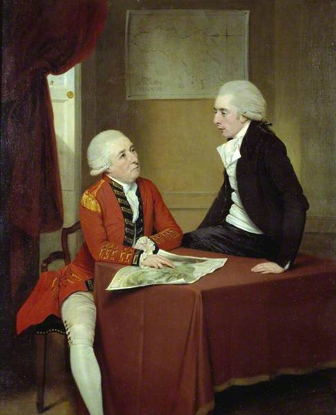Sir Ralph Abercromby (?) and Companion