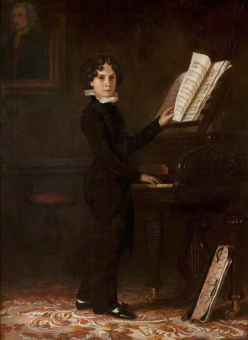 Frederick Jewson, FRAM (when aged nine)