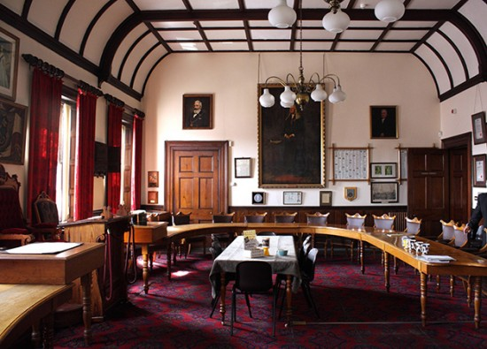 Wisbech Town Council Chamber