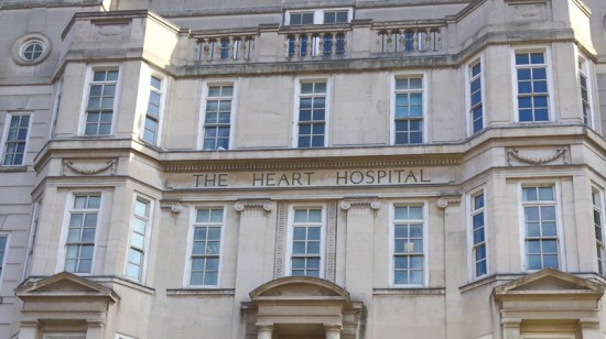 The Heart Hospital, UCLH Arts