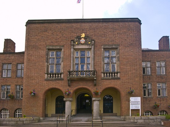 Dudley Metropolitan Borough Council House