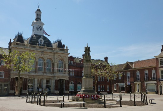 Retford Town Hall, Bassetlaw District Council