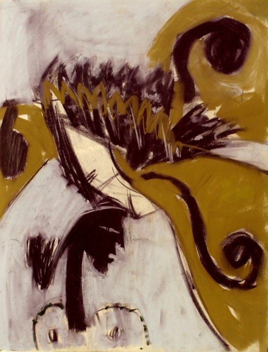 2016_075_MICHIE_David_Alan_Redpath_Terston_Sketchbook_Leaf_32r_Profile_head_and_shoulders_of_woman_w