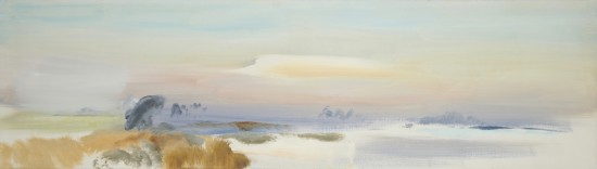 G3_J_Hitchens_1970_Church_Norton_March_Sunset_JPG
