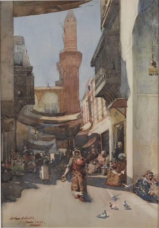 Melville_Cairo_Street_jpg