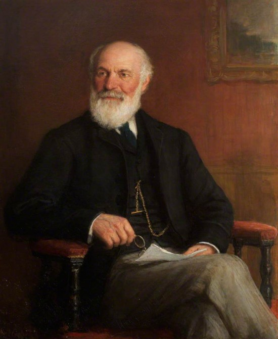 oil on canvas by Hugh Carter (1837–1903)