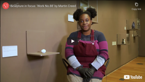 Sculpture in focus: 'Work No. 88' by Martin Creed