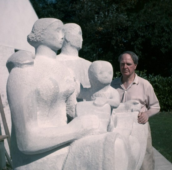Henry Moore and Harlow