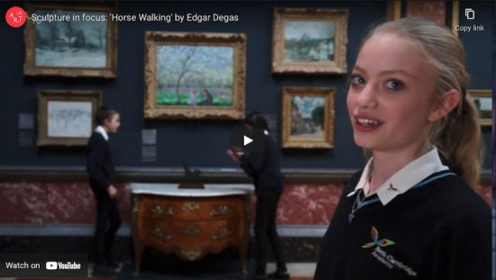 Sculpture in focus: 'Horse Walking' by Edgar Degas