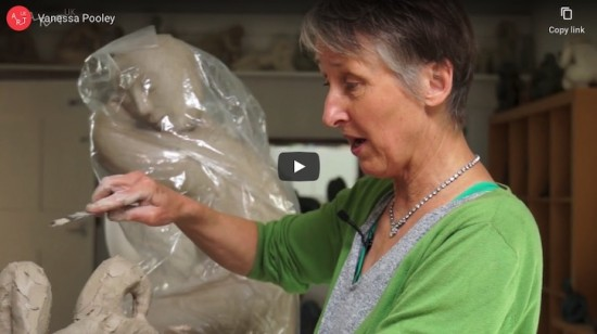 Sculptors' techniques: Vanessa Pooley