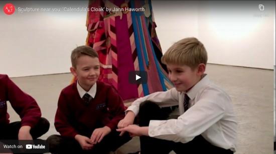 Sculpture near you: 'Calendula's Cloak'