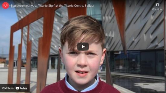 Sculpture near you: 'Titanic Sign'