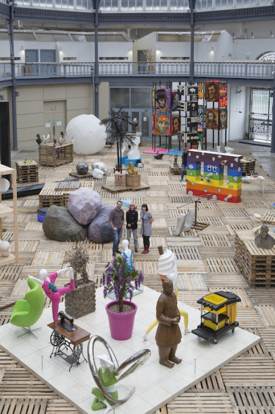 The 2014 exhibition 'Reclaimed: The Second Life of Sculpture'