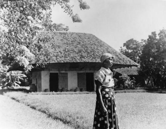Clementine Hunter at Melrose Plantation