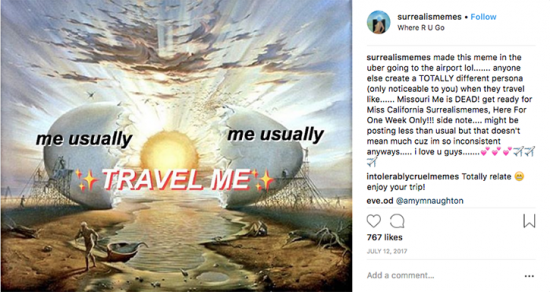 @surrealismemes on Instagram
