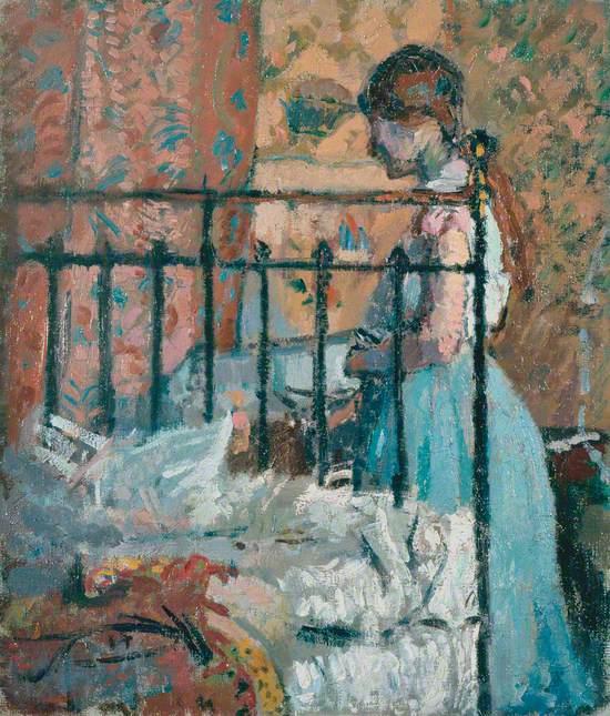 The Blue Petticoat