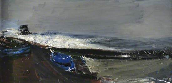 High Tide, a Winter Afternoon