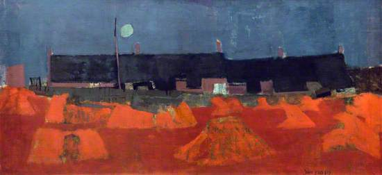 Cornfield at Nightfall