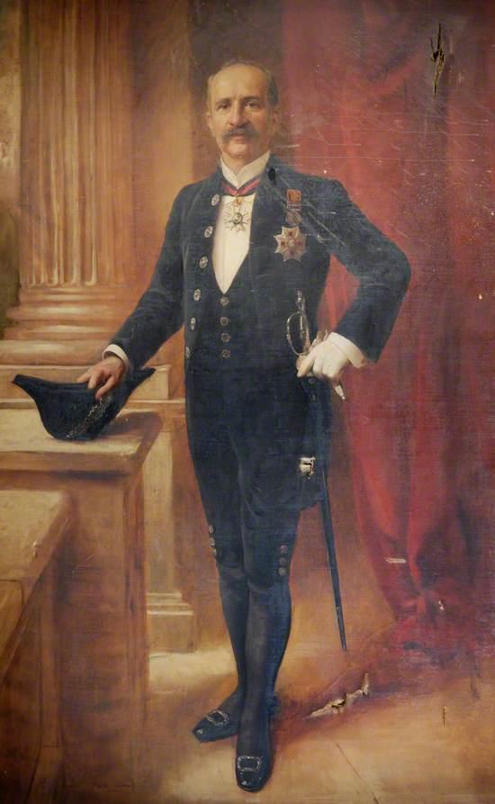 Portrait of a Governor