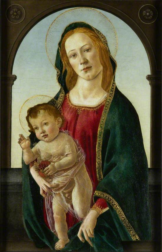Virgin and Child with a Pomegranate