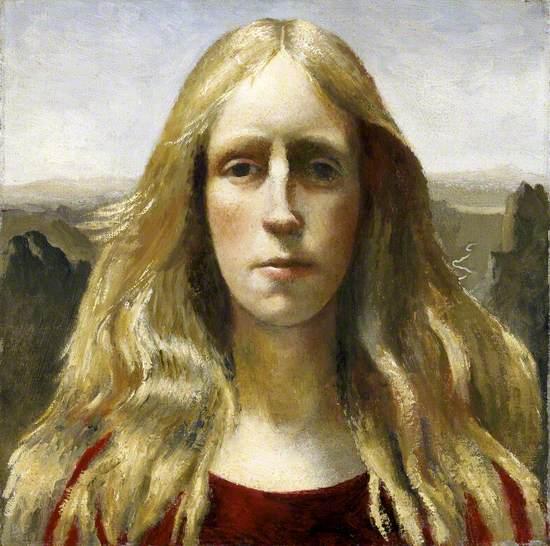 Self Portrait on Garnedd Dafydd