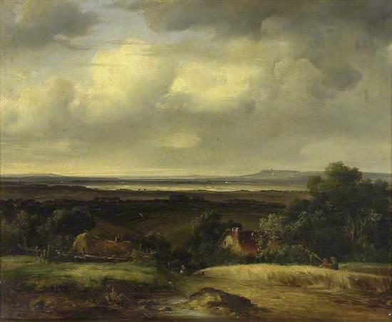 Landscape: Extensive View over a Vale
