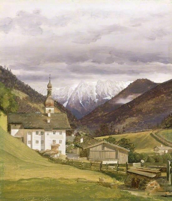 The Church of Ramsau