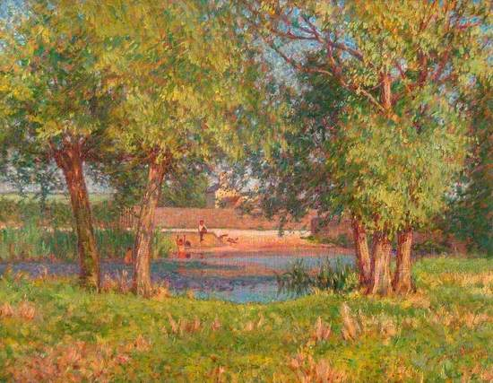 Heath Pond, Leighton Buzzard, Bedfordshire