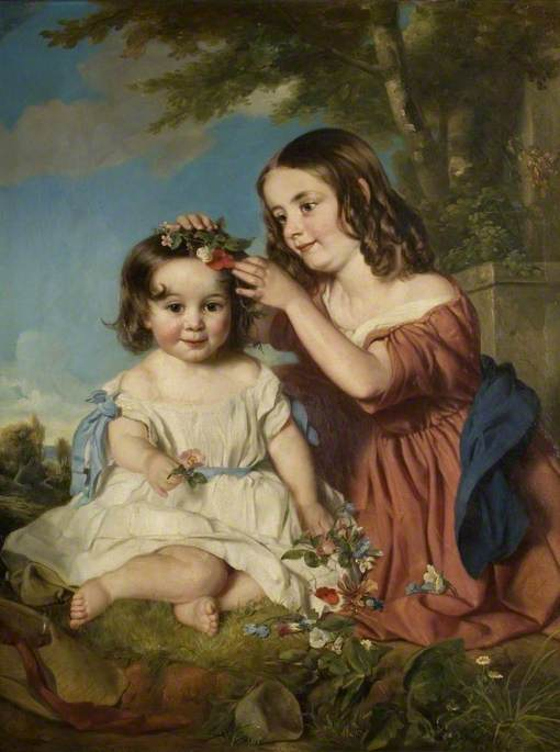 Louisa Mary (1849–1947), and Emily Caroline (b.1853), Children of 10th Bt Isham