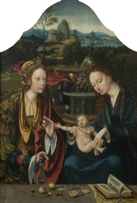 The Virgin and Child with Saint Catherine of Alexandria