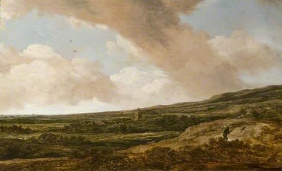Landscape with a Huntsman