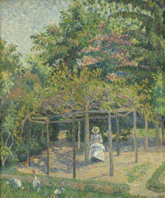 The Turkeys, or Esther in the Garden, Eragny
